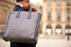 Goyard tote!! Want it so bad ;)