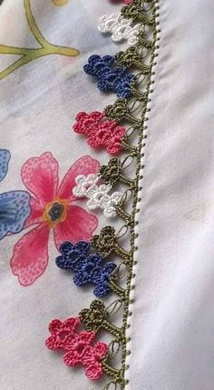 Birbirinden Hoş Tığ İşi Oya Modelleri Basic Embroidery Stitches, Crochet Flowers, Tatting, Knit Crochet, Jewelry, Design, Moda Emo, Tulum, Piercings