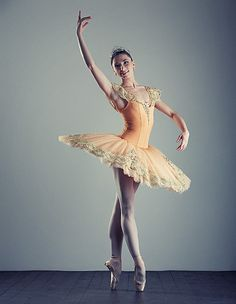 I wish I had the body to become a professional ballerina!