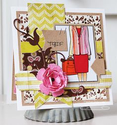Patterned Paper: WTG Goes Down To Business