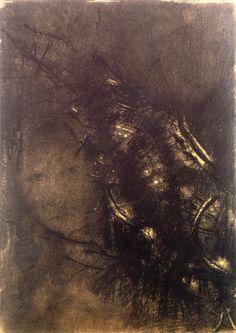 "leaddust: "" Dream, Odilon Redon, ca. 1898. """