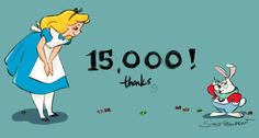 stevethompson-art: 15,000 followers! - Thank you I couldn't let that pass me by with out saying thank you. It's been really busy here at work, but there is a lot of fun stuff coming your way soon. :) Thank you for joining me. If you've been around for a while or if you are new, I hope you might enjoy a look around and see what you've missed. stay tuned for more…….. now in COLOR!