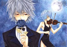 Kiss from a Rose by kaoru-chan (manga art) Manga Art, Manga Anime, Anime Art, Rei Ayanami, Animation Reference, Neon Genesis Evangelion, People Magazine, Anime Ships, Art Inspo