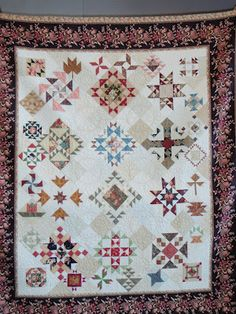 New blog post about our guild's class with Master Quilter and Teacher, Kaye England.