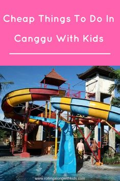 Canggu with kids, things to do and cheap places to eat. Kids Things To Do, Cheap Things To Do, Stuff To Do, Bali With Kids, Travel With Kids, Family Travel, Bali Family Holidays, Places To Travel, Places To Visit