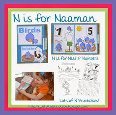 Bible Fun For Kids: Preschool Alphabet: N is for Naaman