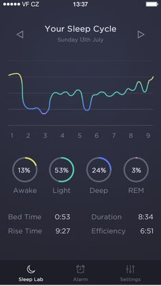 Sleep Time App by Michal Langmajer