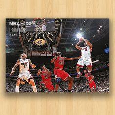 NBA HOOPS - LeBron James
