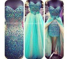Blue Prom DressLong Prom Dresses