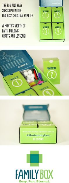 1000 images about family box originals on pinterest for Craft subscription box for adults