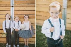 Crianças no casamento. #casamento #meninosdasalianças #vestido #suspensórios
