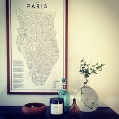 Paris Map by Ehrenstråhle & Wågnert
