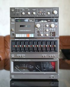 Vintage Audio Love — Hitachi Stereo System 😍 Sound remote location in addition to traditional Audio Amplifier, Hifi Audio, Audiophile, Hifi Stereo, Radios, Mini System, Room Speakers, Wireless Speakers, Whole Home Audio