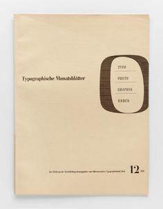 TM Typographische Monatsblätter, issue 12, 1941