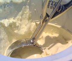 Homemade banana ice cream. Definitely a recipe to try! http://www.ice-cream-recipes.com/ice_cream_recipe_banana.htm