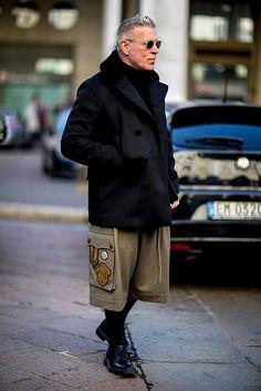 Миланы эрэгтэй загварын долоо хоног дах street style, I хэсэг, Buro 24/7