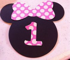 minnie face outline - Google Search