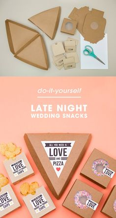Snacks para fiesta de boda / http://somethingturquoise.com