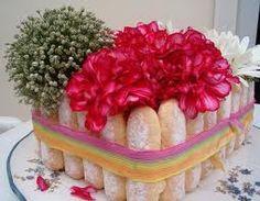 centre de table Imitation gâteau