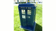 Doctor Who Lego TARDIS  If I were signed up I would support making this an official Lego kit!!!!!!