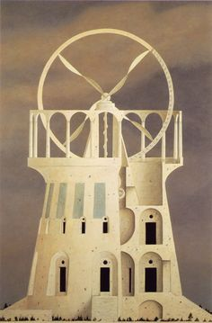 Fantasy Architecture by Nomata Minoru