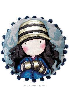 Gorjuss Tapestry Kit - Toadstools