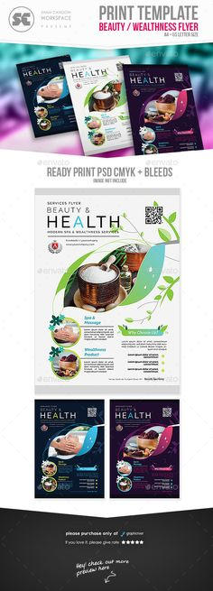 Beauty Spa #Flyer - #Miscellaneous Events