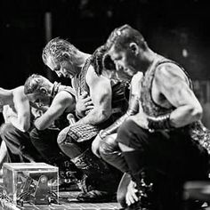 Rammstein taking a bow