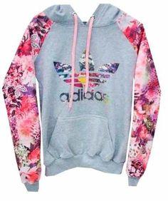 f3a61602593 blusa adidas feminina florida 100% original frete grátis!!! Moletom Adidas  Floral