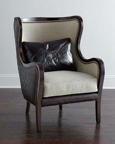 H714M Massoud Leanna Wing Chair