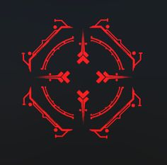 I made these reticles for space shooter we made for the Oculus Rift. They consist of three different layers to create the illusion of depth. Game Icon Design, Neon Light Art, Iron Man Wallpaper, Concept Weapons, Symbol Design, Glitch, User Interface, Cyber, Overlays