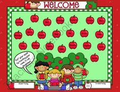 Free Smartboard Attendance Page product from Teacherstuff on TeachersNotebook.com