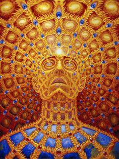 Arte psicodélica de Alex Grey