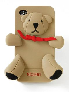 Moschino Gennarino Bear iPhone Case