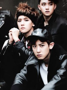 yet another sexy picture from die jungs #D.O #Baek #Chanyeol