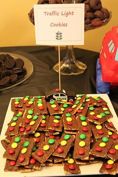 Car and truck party dessert ideas