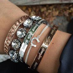 Bracelets Stella & Dot => www.stelladot.fr/jess