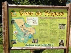 Parc du Reynou.  Zoo and nature park approx 45 mins drive from Frachis Cottages. #frachisnearbellac