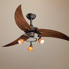 "48"" Picard Oil Rubbed Bronze Ceiling Fan"