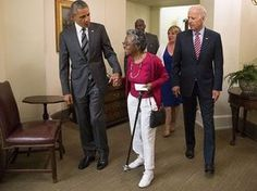 97-Year-Old Meets President After WTTG Story About First Field Trip. Bailey and Obama 640