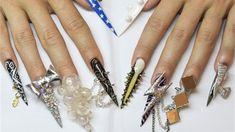 Lady Gaga Bubble Nails