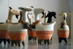 ARGHILLA' L' Arte delle Terreceramics make me wanna get some clay in my hands very badly! Nicola Tripodi'sceramicsare real masterpieces! They are poetic and make you fall in lo…