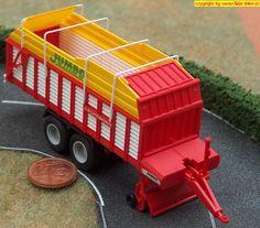 Pöttinger Heuladewagen (Wiking 381 40 28) H0