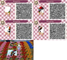 Isabelle bedsheets animal crossing new leaf qr code based for Animal crossing mural