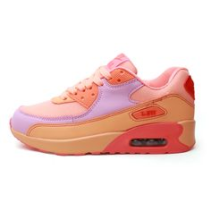 Find More Women's Casual Shoes Information about New 2016 Fashion Flats Women Trainers Breathable Sport Woman Air 90 Shoes Casual Outdoor Walking Women Flats Zapatillas Mujer,High Quality shoes women sale,China shoes 2012 women Suppliers, Cheap shoes women brands from YiQi Trading Co. ,Ltd. on Aliexpress.com Air Max Sneakers, Sneakers Nike, Casual Shoes, Women's Casual, Women Brands, Cheap Shoes, Fashion Flats, Women's Pumps, Sports Women