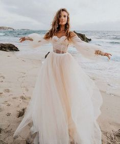 Bellina - Alegria - Bridal Dresses - Galia Lahav : For a wedding dress that you can float down the aisle in our stunning - a dramatic ballerina ballgown made of pleated silk tulle in shades of ivory and blush. Dream Wedding Dresses, Bridal Dresses, Wedding Gowns, Prom Dresses, Dramatic Wedding Dresses, Wedding Dress Tulle, Ivory Wedding Dresses, Fluffy Wedding Dress, Delicate Wedding Dress