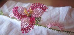 İğne Oyası Pervane Çiçeği Yapılışı