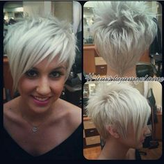 Short Hair Women Style : Photo from rusk.westcoast Short Hair Women Style Image Description Photo from rusk.westcoastShort Hair Women Style Image Description Photo from rusk. Cute Hairstyles For Short Hair, Short Hair Cuts For Women, Pixie Hairstyles, Short Hair Styles, Haircut Short, Formal Hairstyles, Wedding Hairstyles, Short Haircuts, Weave Hairstyles