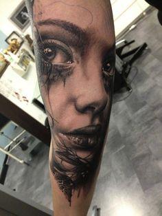 girlfriend sleeve cool tattoos egodesigns