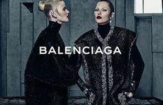 Les plus belles campagnes mode de l'automne hiver 2015 2016 - Kate Moss Balenciaga